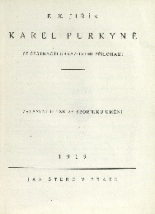 Book cover: Karel Purkyně