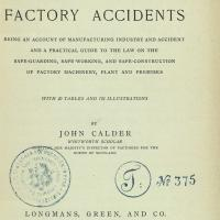 The Prevention of Factory Accidents 1