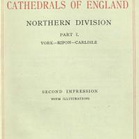Handbook to the cathedrals of England 1