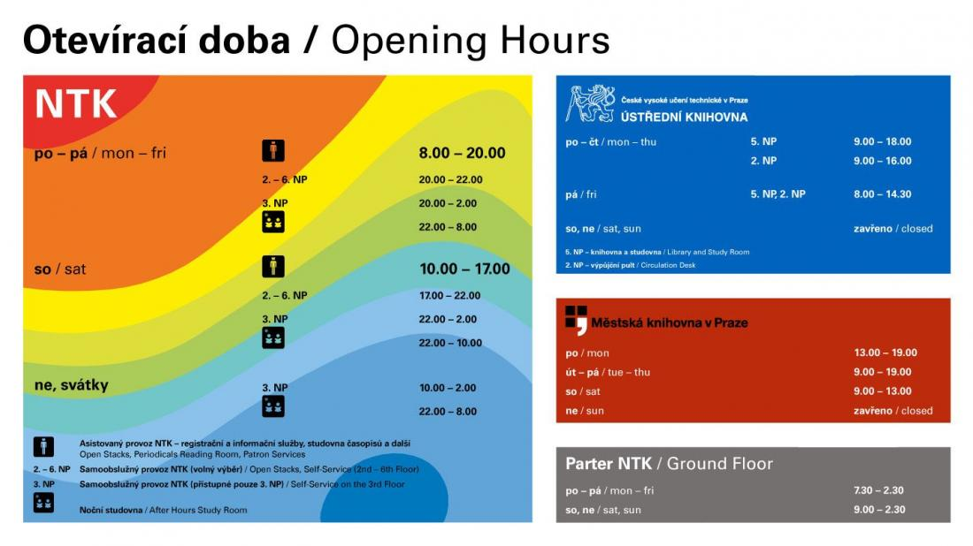 New Opening Hours in 2016