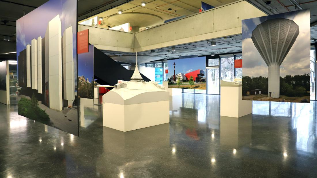 3D visualisation of an exhibition
