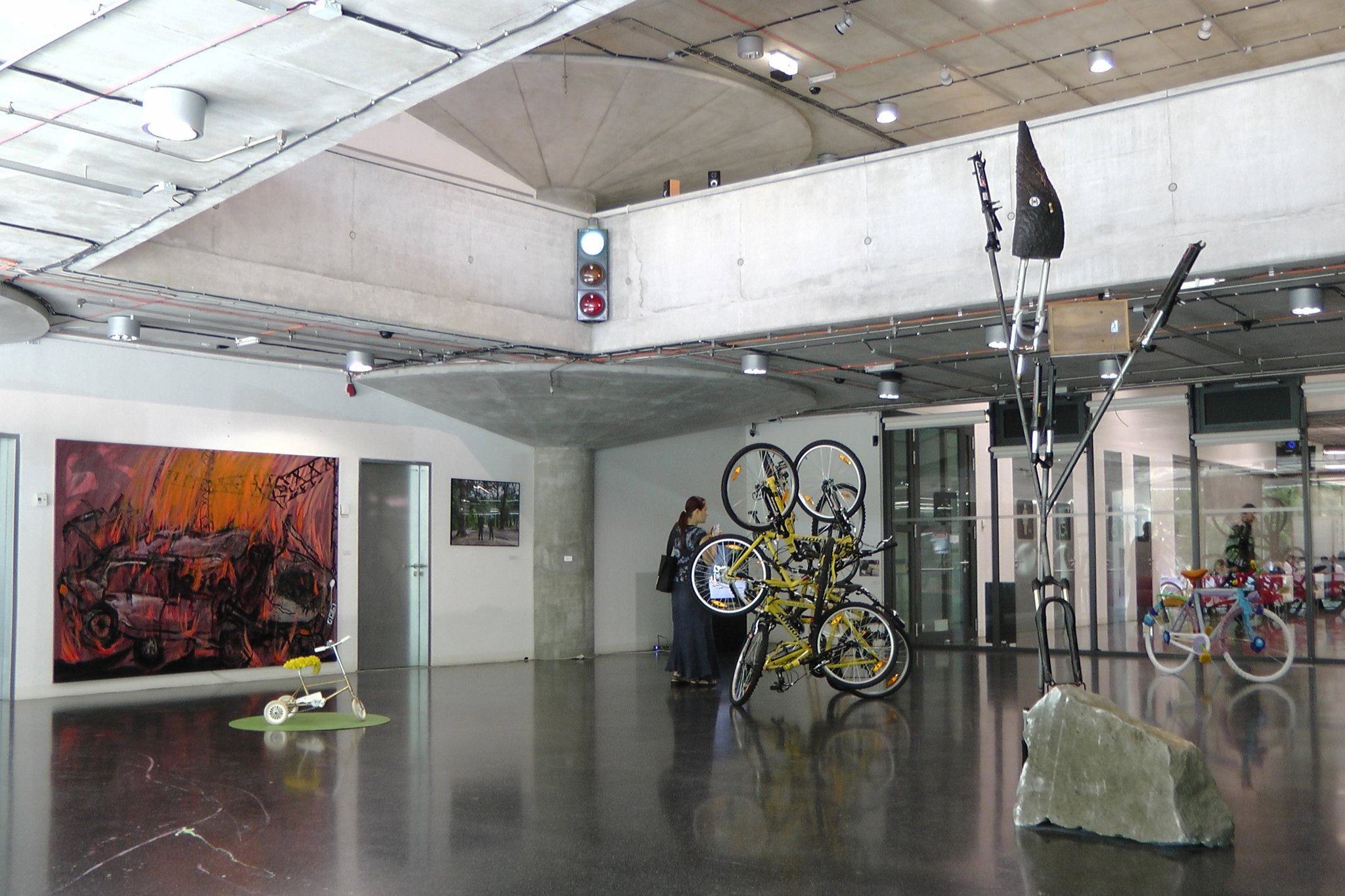 Velocypedia exhibition at Gallery NTK.